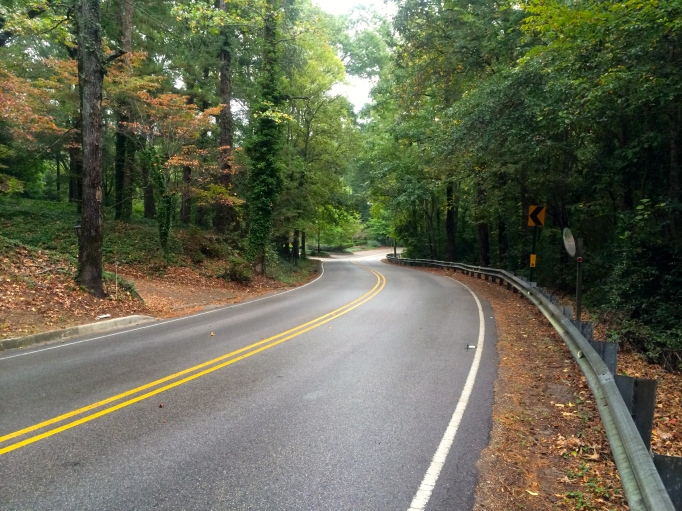 Beautiful Mountain Brook Road