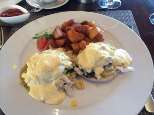 Eggs Benedict with Lump Crab